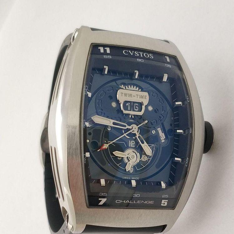 卡斯托斯手表偷停原因(图)
